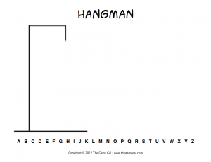 Printable Hangman Worksheets